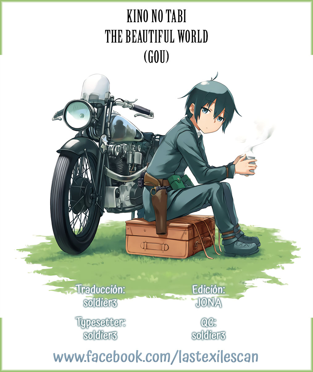 Kino no Tabi - The Beautiful World (Gou) Capítulo 5